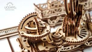 Ugears Rail Manipulator Mechanical Town Series (74)