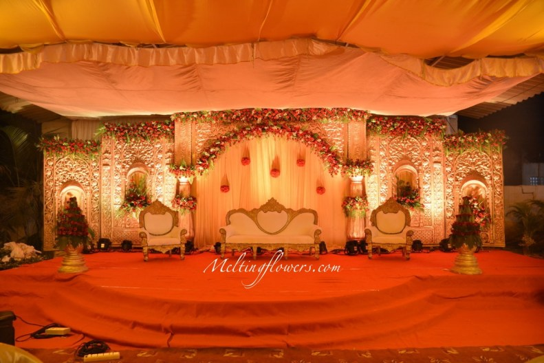 Reception Flower Decoration For Wedding Stage from i1.wp.com