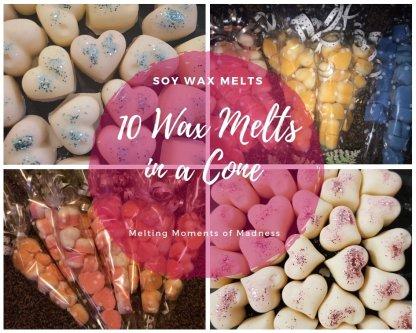 Medium Wax Melt Cones