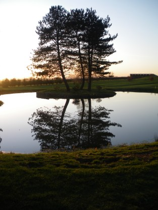 Our parkland course is rather picturesque.