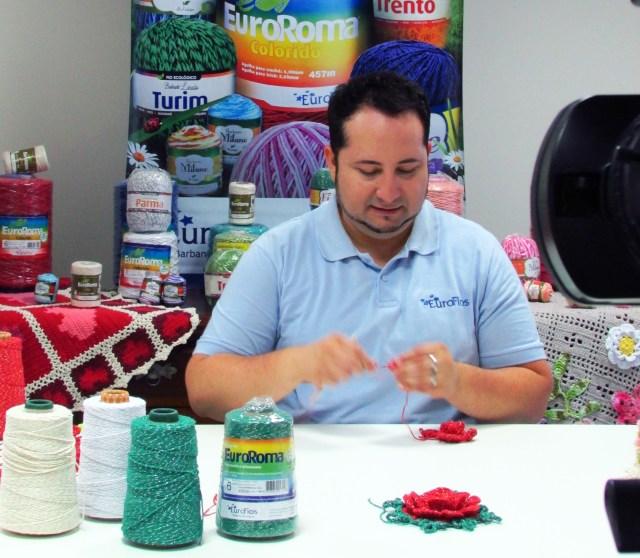 Marcelo Nunes realizará workshops de artesanato durante a Feira da Amizade, em Blumenau (SC). Imagem: Reprodução
