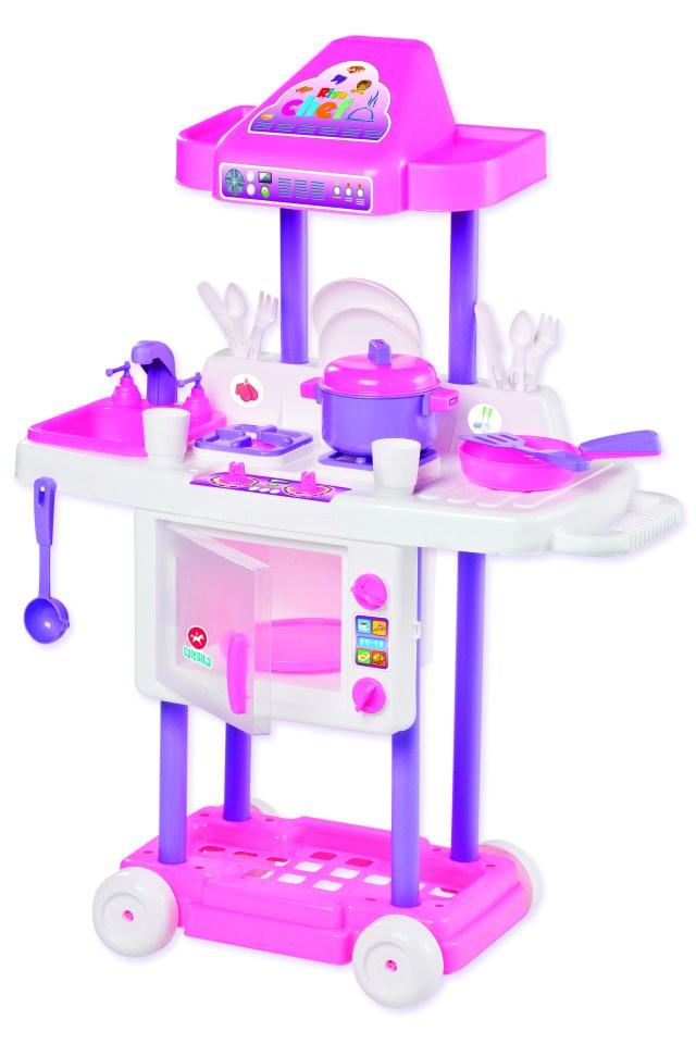 Brinquedos como a Riva Chef trazem benefícios para as crianças. Imagem: Divulgação