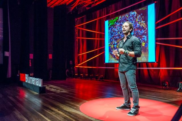 Nova edição do TEDxBlumenau será em 2016. Imagem: Alexandre Zelinski
