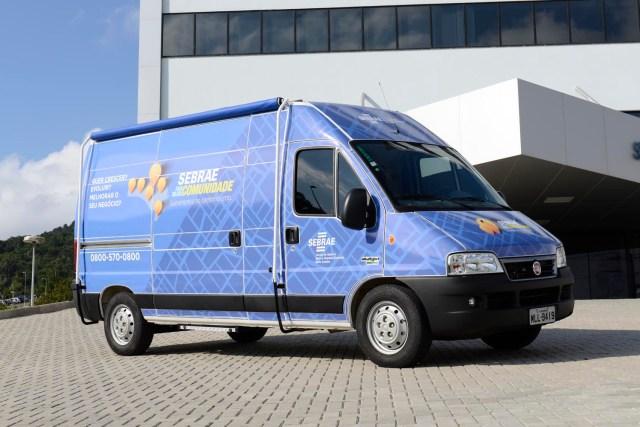Cinco bairros receberão a unidade móvel do Sebrae na próxima semana.  Imagem: Divulgação