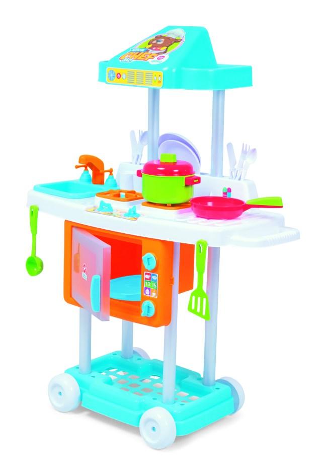 Riva Mr Chef aposta em cores neutras e é dedicada a meninos e meninas. Imagem: Divulgação