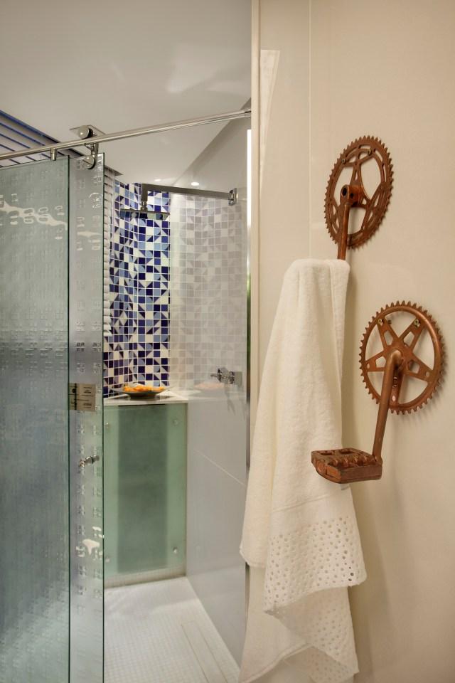 Ralo Royal com tampa oculta leva modernidade para o escoamento. Imagem: MCA Estudio Fotográfico   Denilson Machado e Juliano Colodeti