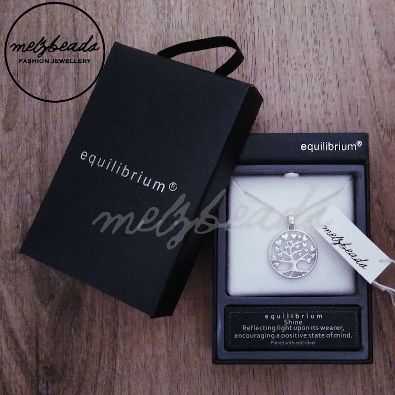 Equilibrium Tree of Life Necklace - Silver Matte
