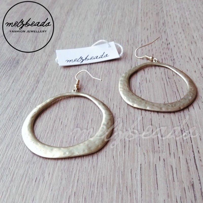 Matt Gold Earrings