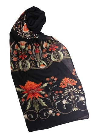 Black Gold Melba Light Scarf