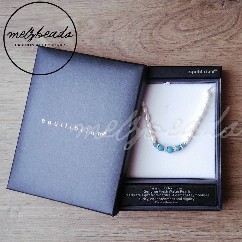 Fresh Water PearlTurquoise Necklace