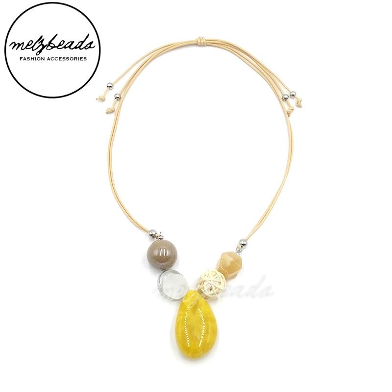 Chloe Yellow Necklace