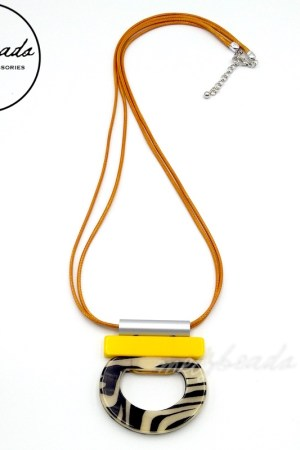 Sofia Necklace Mustard