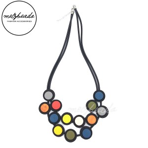 Colourful Multi Disk Necklace
