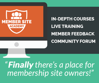 membership site academy