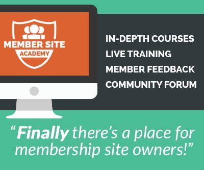 Member Site Academy