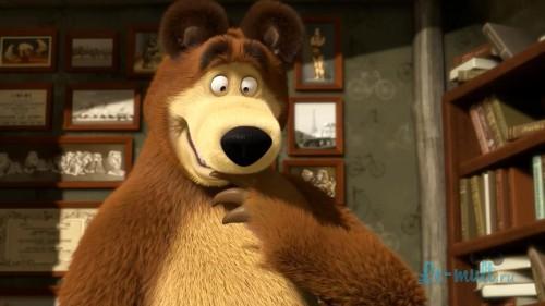 """Создать мем """"Хуета (Хуета, фото медведя из мультика маша и ..."""