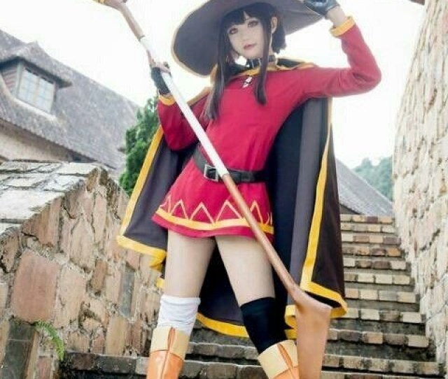 Create Meme Megumin Cosplay Konosuba Megumin Asian Cosplay