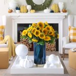 How To Decorate With A Happy Bright Yellow For Fall