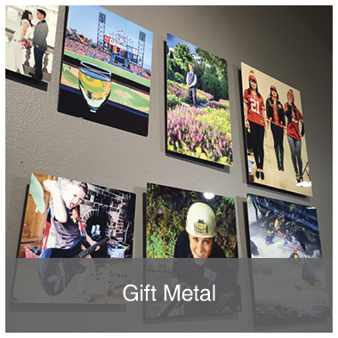 Gift Metal Prints from Memento Press