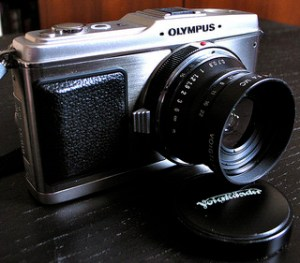 1960s Era Olympus PEN E-P1 - Ancestor of Today's MILC
