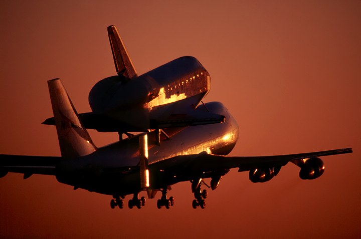 Shuttle Endeavor to Fly Over San Francisco, Tomorrow Friday 9-21-12