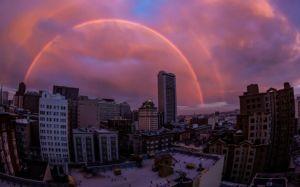Double Rainbow Courtesy Toby Harriman - SF