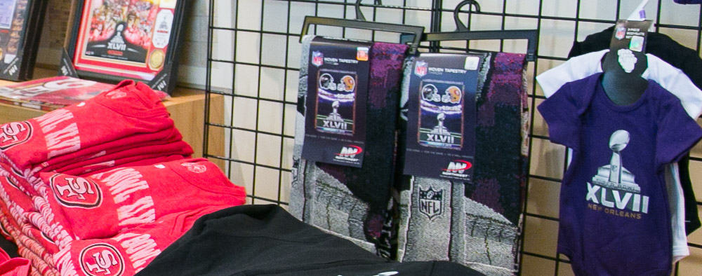 the latest 302f0 ac44d 49ers Official Merchandise Shop Now Open in San Francisco ...
