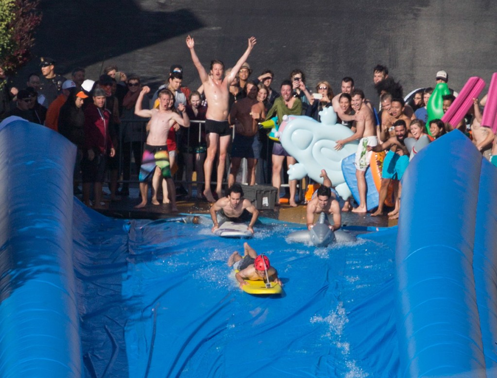 Giant Slip 'n Slide – Potrero Hill, San Francisco