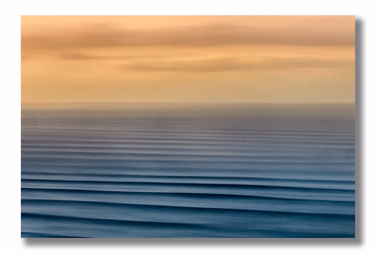 "Miah Klein's ""Pipe Lines"" image from Surfline's Great Breaks line of Decor Metal prints."