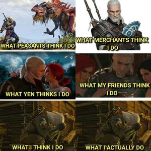 50 The Witcher Memes Funniest Witcher Memes Geralt Of