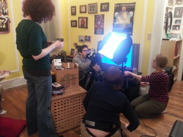 The setup for an important moment in the film. January 2015