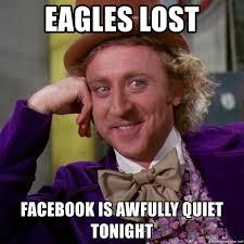 eagles lost memes