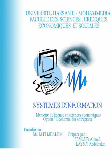 Memoire Online Systme Dinformation Gestion De L
