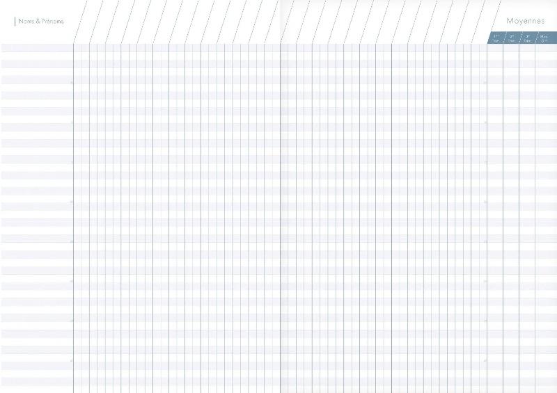 Clairefontaine Agenda De Bord Metric 144 Pages 21x297cm