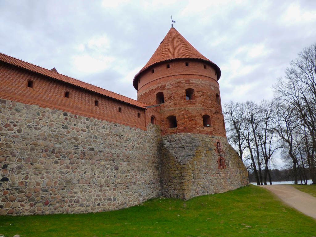 Trakai Castle Wall