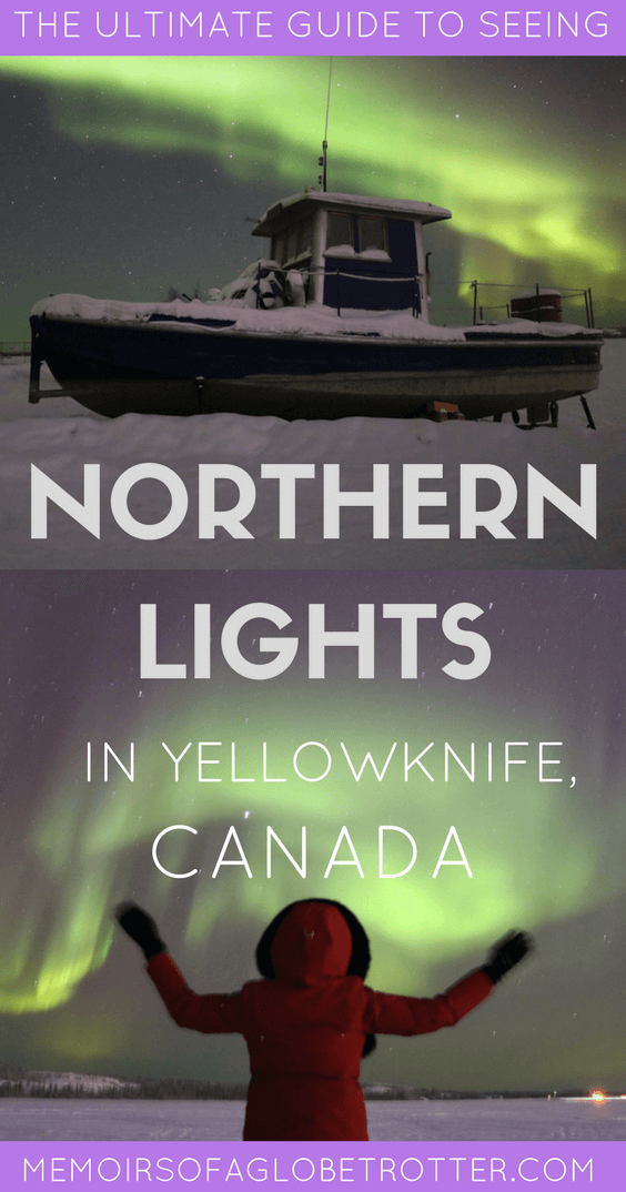 The Aurora Borealis is one of nature's most fascinating phenomenons. Located in Canada's Northwest Territories, Yellowknife is the perfect place to witness the Northern Lights!