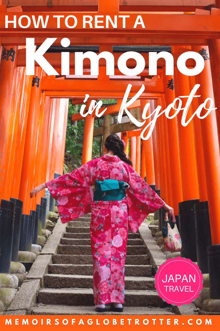 Interested in renting a #kimono in #Kyoto, #Japan? This guide walks you through each step of the process!