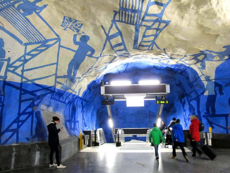 T-Centralen Station in Stockholm