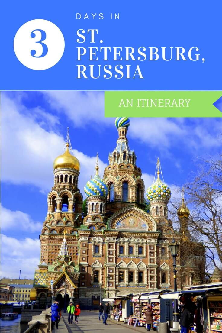 Are you wondering what to do in St. Petersburg? This 3 day itinerary covers all of St. Petersburg's top attractions.