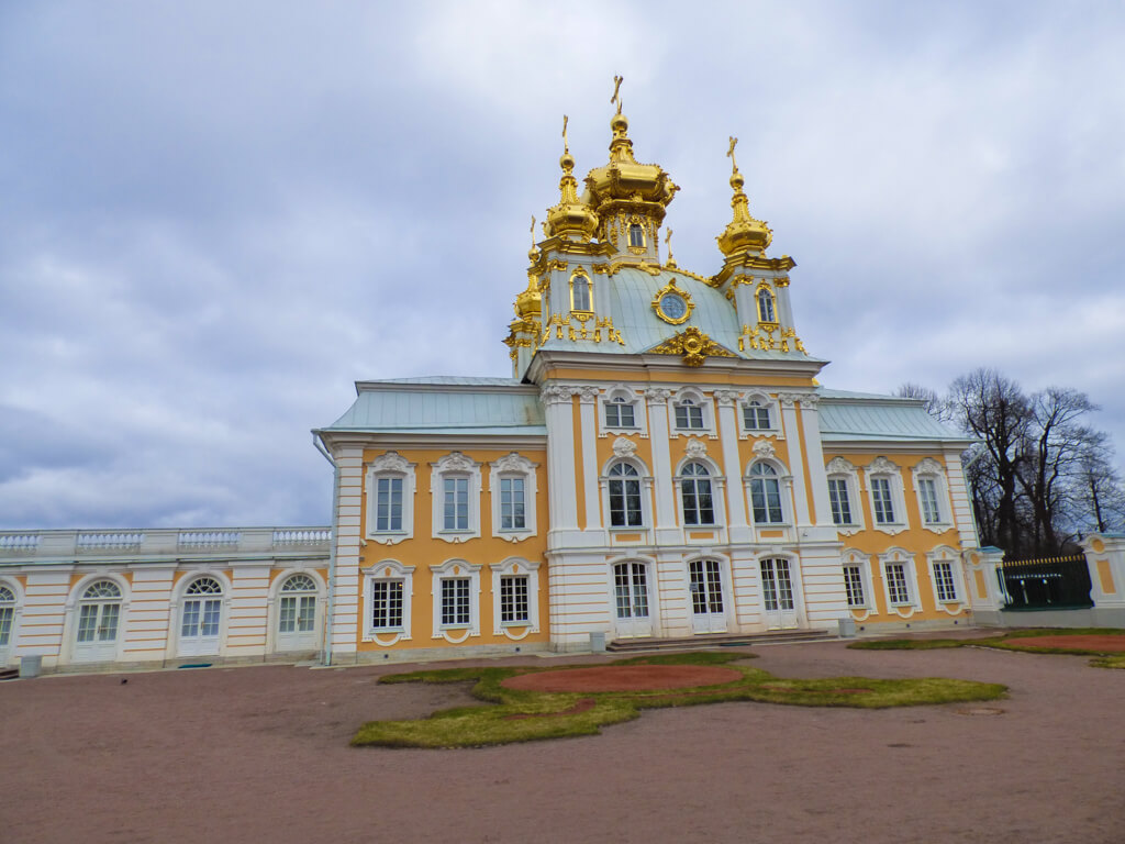 The Grand Cathedral of St. Peter and Paul Church at Peterhof