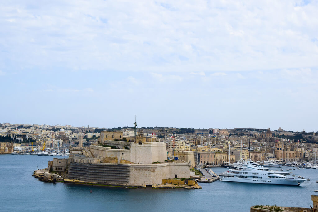 Vittoriosa, where scenes for The Count of Monte Cristo and the Da Vinci Code were filmed.