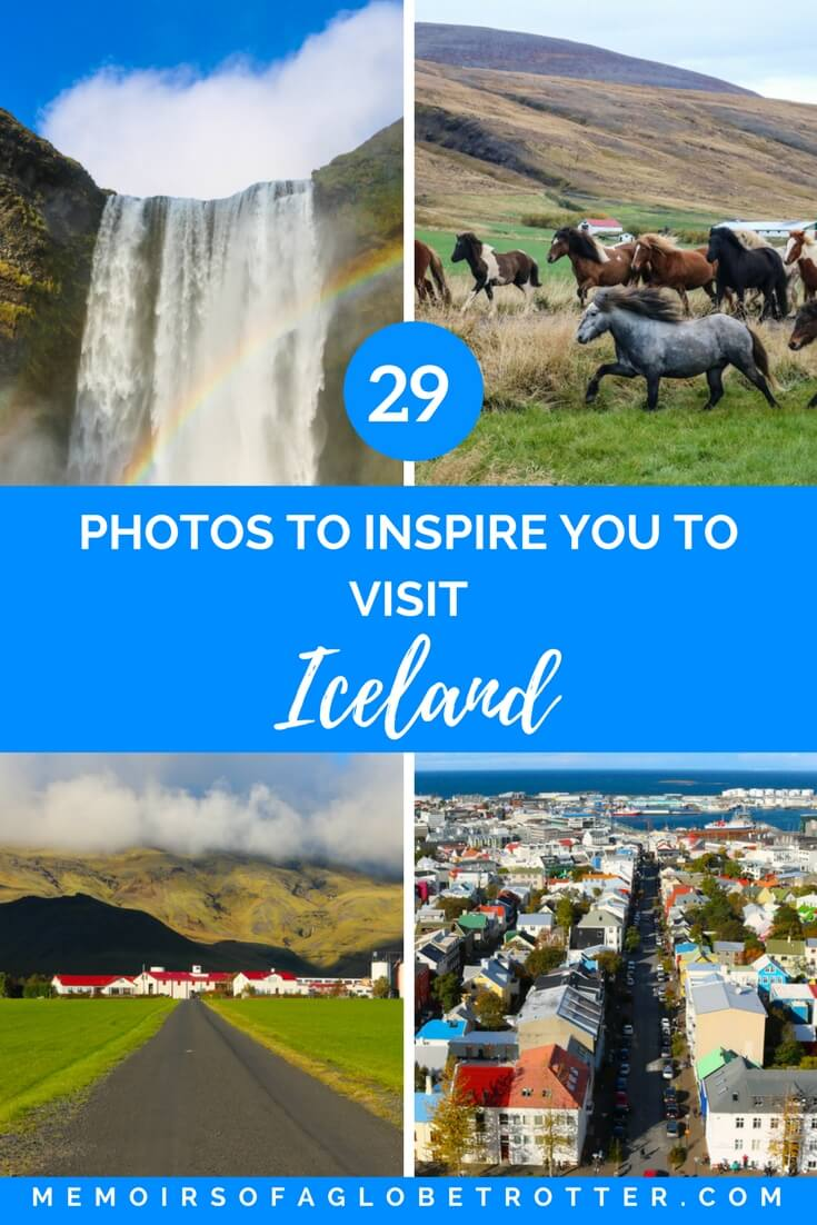 With glaciers, waterfalls, geysers and lava fields, Iceland has some of the most stunning scenery on the planet!
