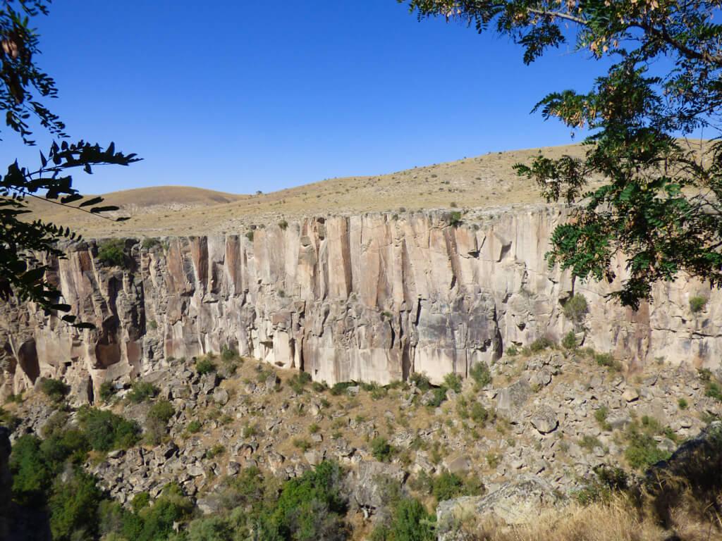 Ilhara Valley in Cappadocia, Turkey