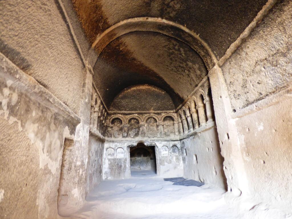 Selime Monastery Chapel in Cappadocia, Turkey