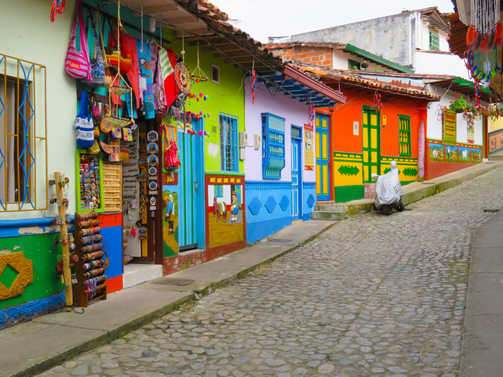 Guatape Colourful Houses
