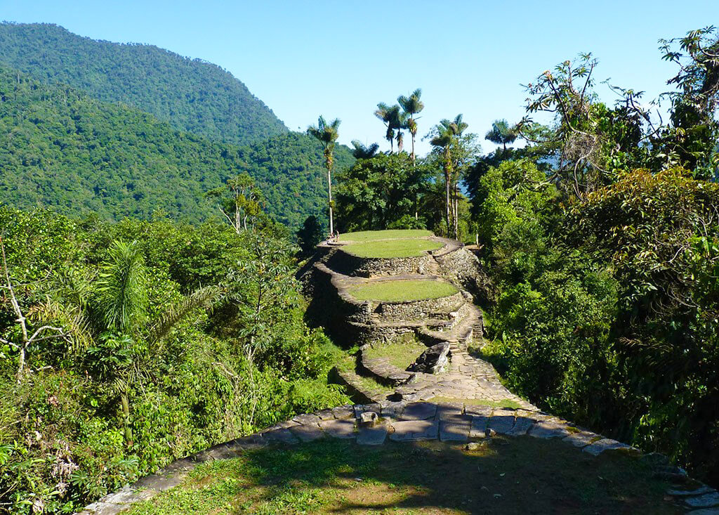 La Ciudad Perdida (the Lost City) is hidden away in the jungles of Colombia