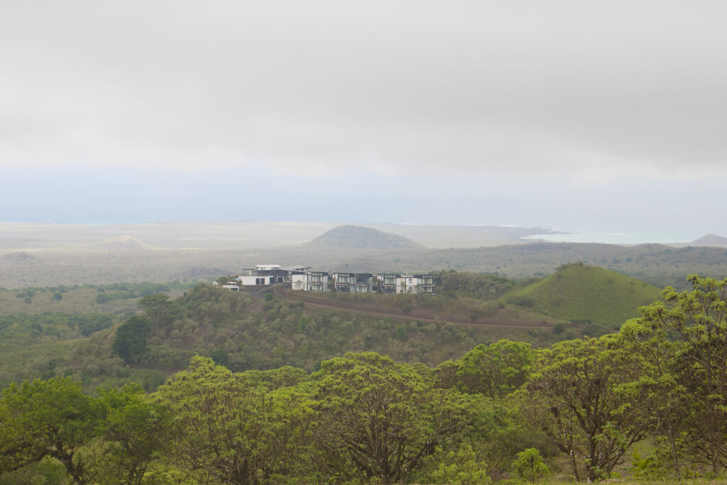 Pikaia Lodge is a luxury ecolodge located in the highlands of Santa Cruz Island in the Galapagos.