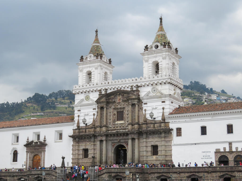San Francisco Church in Old Town Quito