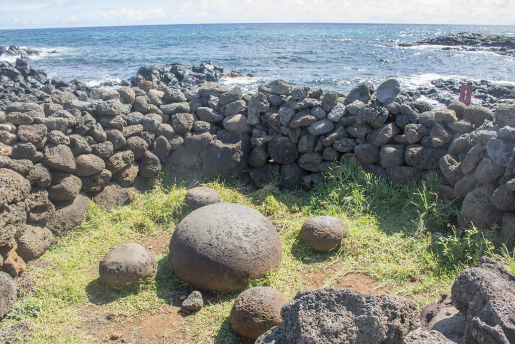 The rock Te Pito Kura on Easter Island supposedly contains a spiritual, magnetic energy called mana.
