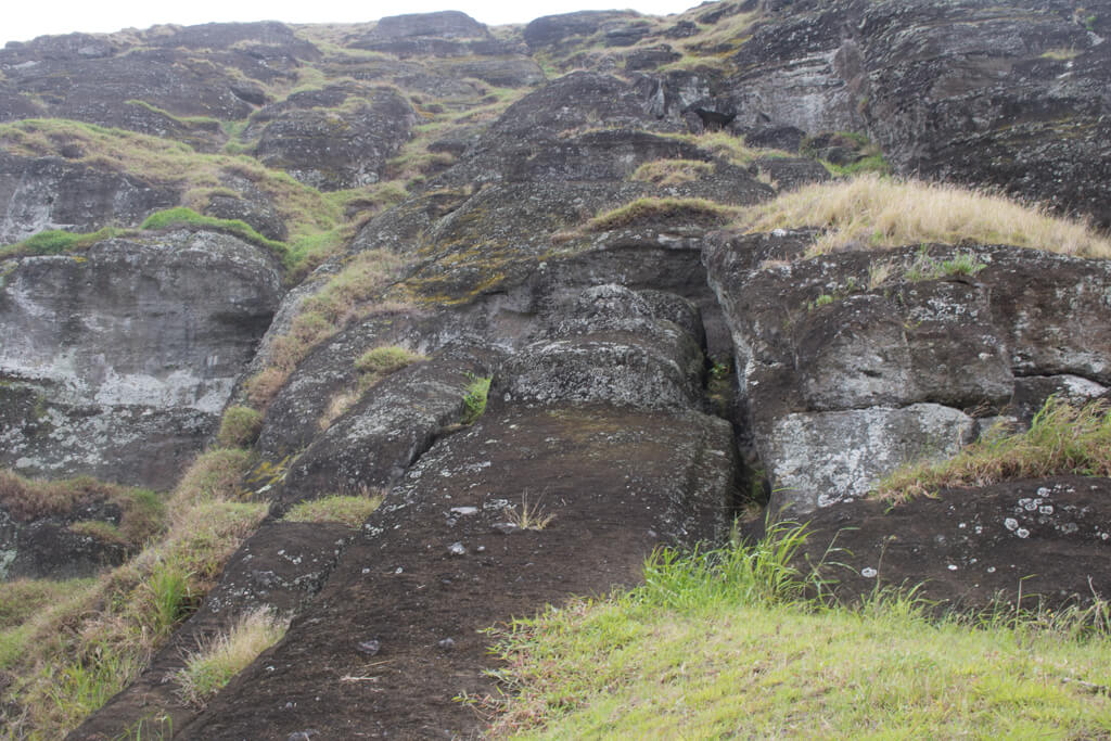 Te Tokanga, the largest moai ever carved, can be found at Rano Raraku on Easter Island